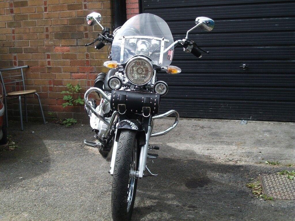 124 custom motorcycle