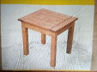 Pine side table.
