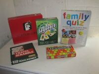selection of 5 board games (5 sold)