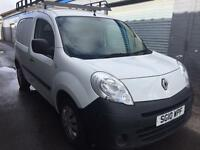 SALE! NO VAT! Bargain Renault kangoo ml19 plus van, long MOT, ready for work