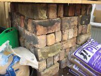 Reclaimed mixed stock bricks