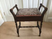 Piano stool antique