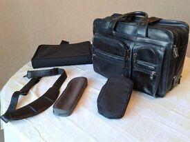 Tumi expandable briefcase/organiser/laptop bag