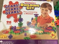 Learning Resources Gears Gears Gears Beginner's Building Set - Multi-Coloured