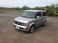 02/52 NISSAN 1.4 CUBE 5DR AUTOMATIC ESTATE