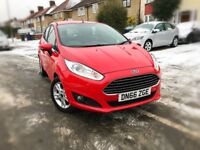 2016 FORD FIESTA 1.0 ECO BOOST ZETEC 5DR,3000 MILES ONLY,1 OWNER,TAX FREE,CHEAP INSURANCE,BARGAIN.