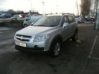 DIESEL !!! 2010 60 CHEVROLET CAPTIVA 2.0 LT VCDI 5D 148 BHP **** GUARANTEED FINANCE **** PART EX WEL