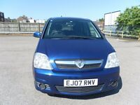 VAUXHALL MERIVA 1.4 ENERGY/AC 5 DOOR MPV LONG MOT CHEAP TO RUN GREAT CONDITION