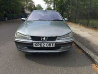 Diesel Peugeot 406 HDI for sale, very long MOT, drives good.