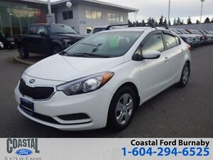 2014 Kia Forte LX with Bluetooth and Power Seats