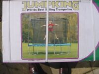 Jumpking 10ft Trampoline - NEW still in its sealed box