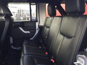 2014 Jeep Wrangler Unlimited Sahara 4X4, Leather, Local, NEW Tir Comox / Courtenay / Cumberland Comox Valley Area image 18