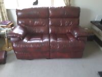 Two 2 Seater Reclining Sofa's (Buy individually or as a pair)