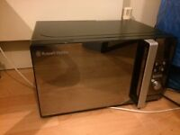 Perfect condition Russell Hobbs microwave