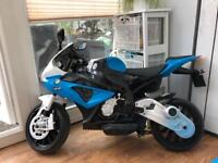 Kids bmw authentic motorbike 12v