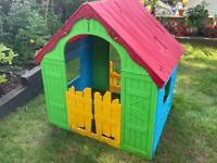 Kids Wendy house. Playhouse. Keter Wonderfold