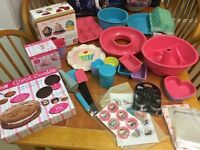 Bakeware/ Cake Making Bundle (Silicone Bakeware plus lots more!)