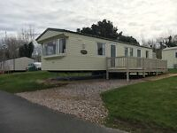 static caravan available.Willerby Vacation with side decking for sale. located in devon,Dawlish