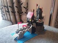 Lego 1992 wolves castle lair 6075