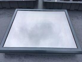 Flat Quality Aluminium Roof Lanterns Supplied & installed