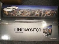"""Samsung UD590 Series U28E590D - 28"""" LED Monitor - 4K"""