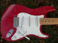 Fender Stratocaster 1998. Made in Mexico. Owned from new. Upgraded block.