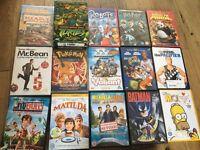 Kids DVD bundle - over 40 boxed DVDs