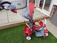 Little tikes 5 in 1 trike -red