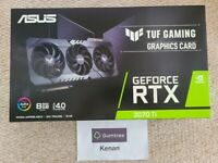 ASUS RTX 3070 Ti Gaming TUF 8GB Graphics Card - BRAND NEW SEALED ✅