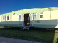 Cheap 3 bed Double Glazed & Centrally Heated static caravan FREE 2018 site fees AT Seawick clacton