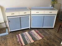 Vintage retro kitchen, 6 units