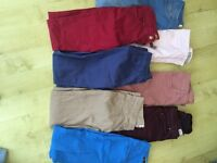skinny jeans size 8 vgc different colours