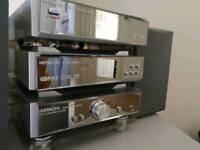 Hitachi mirrored CD player