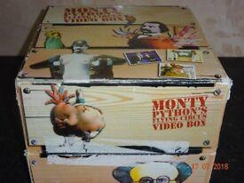 Monty python video box set
