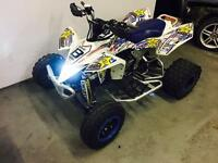 SUZUKI LTR 450 2007 57 ** ROAD LEGAL ** NOT YFZ RAPTOR 700 660 CAN AM KTM 525 *