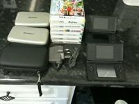 Nintendo DS machine with games