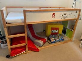 Kura Kids Loft Ikea Bed