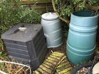 compost containers & fencing - FREE