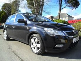 KIA CEED 2 1.6 TD DIESEL 2009 FSH COMPLETE WITH M.O.T HPI CLEAR READY TO DRIVE AWAY TODAY