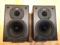Gale Silver Monitor Speakers - Black