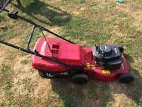 Mountfield hp184 lawnmower petrol with collector