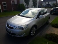 2010 VAUXHALL ASTRA 1.3CDTI ECOFLEX S, ONLY 76K, HALF LEATHER, JUST SERVICED!