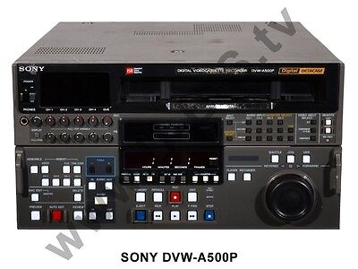 Sony Betacam Digital DVW-A500P - Sommerspecial mit Knallerpreis