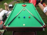 Children's Snooker Pool Table 6ft