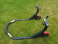 Motorcycle stand rear paddock stand perfect condition