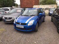 Suzuki Swift 1.3 GL 5dr, 2008 (58 reg), Hatchback, 51,376 miles, Manual Petrol, MOT 12 MONTHS