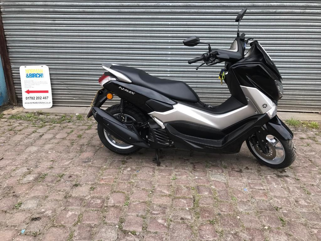 yamaha nmax 125 abs 2016 black silver in stoke on trent staffordshire gumtree. Black Bedroom Furniture Sets. Home Design Ideas