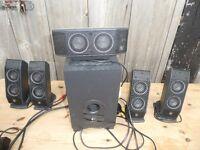 Logitech X-540 Multimedia Surround Sound Speakers 5.1