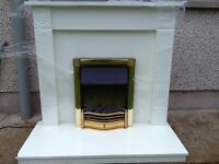 Electric fire and fire surround can be sold seperate