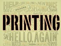 Glasgow Printing Services - Flyers - Banners - Posters